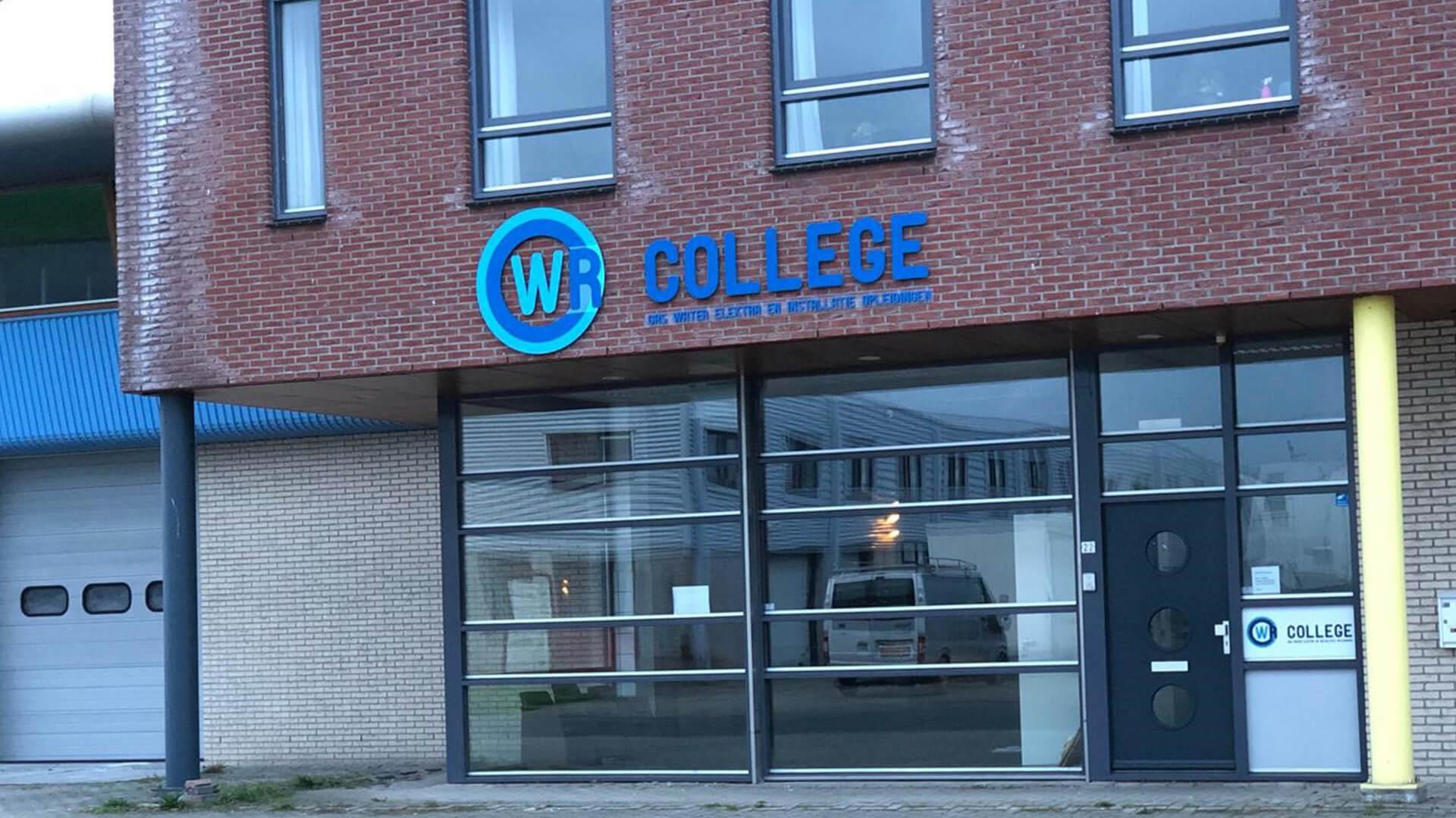 wr college gebouw